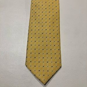 Chaps by Ralph Lauren Boys Clip On Tie Yellow Blue